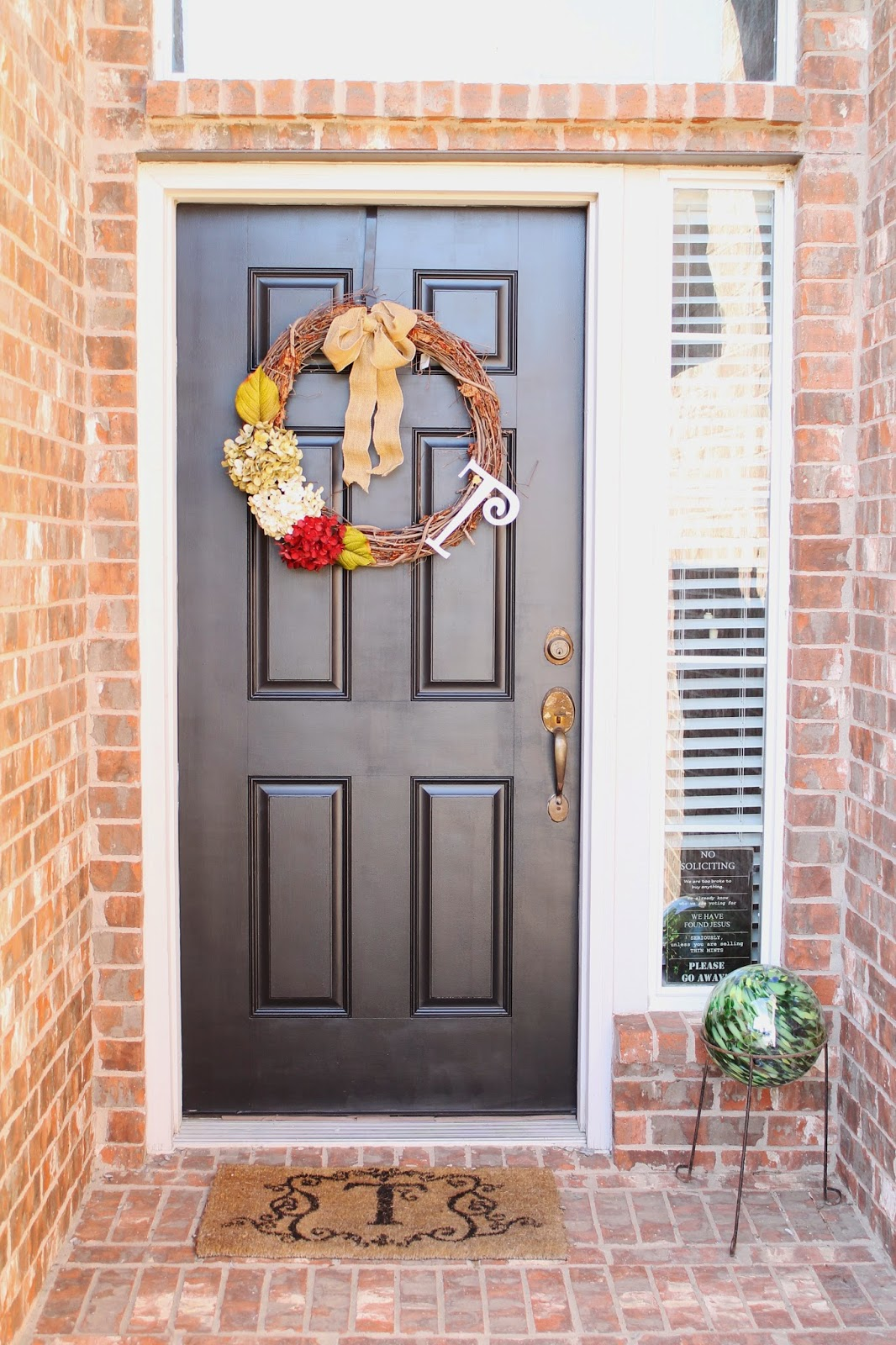 Tucker Up: DIY || Painted Front Door