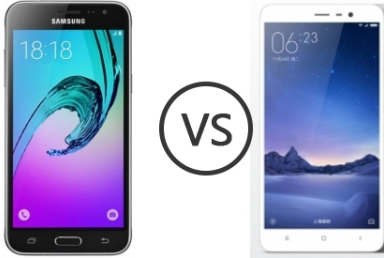 Galaxy J3 (2016) vs. Xiaomi Redmi Note 3