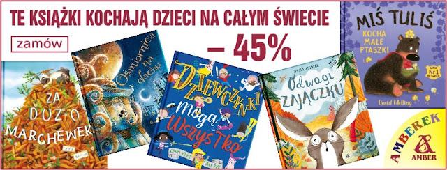 Prezentownik na dzień dziecka: 25 świetnych książek dla przedszkolaka 45% taniej