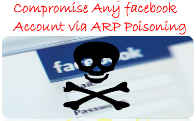 Hack FAcebook Account Using ARP Poisoning Method