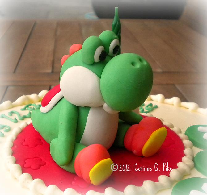 Yoshi Wedding Cake Topper
