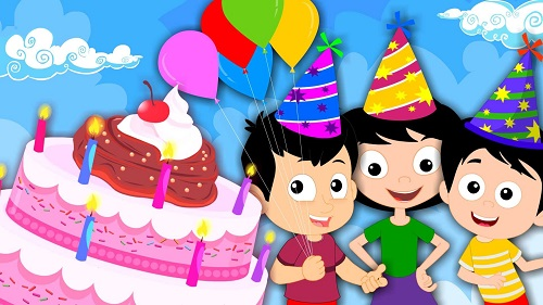 Sweet Birthday Wallpaper for Kids