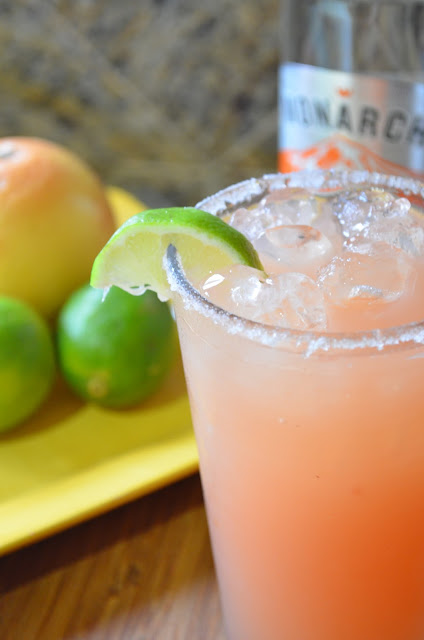 Pink Grapefruit Lime Margarita
