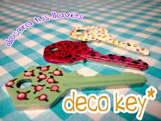 Decora tus llaves con laca de uñas