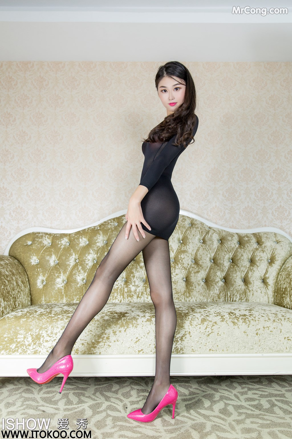 Image ISHOW-No.147-Liu-Yue-Fei-Phoebe-MrCong.com-003 in post ISHOW No.147: Người mẫu Liu Yue Fei (刘玥菲Phoebe) (33 ảnh)