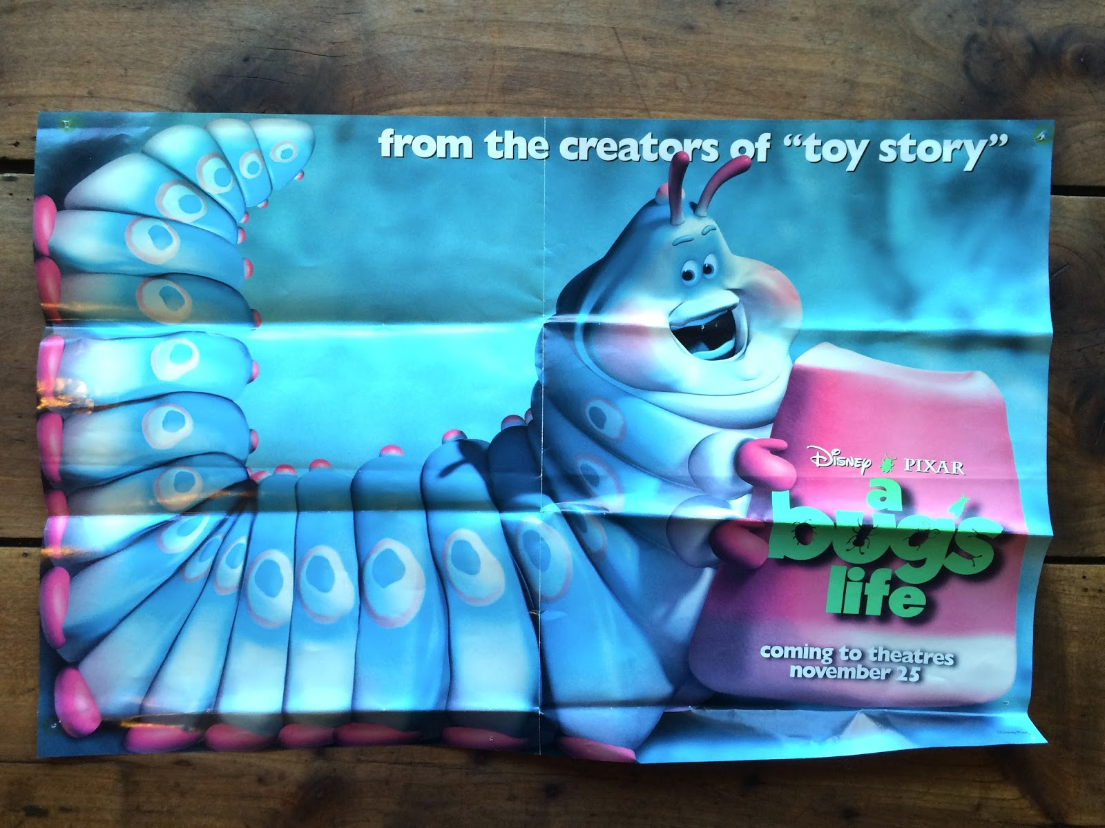 It Was 1999 When I Tacked Up These Toy Story 2 Pages From A Similar Coloring Book Got As Well Another Disney Store Promo Poster
