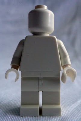 White Monochrome Minifigure