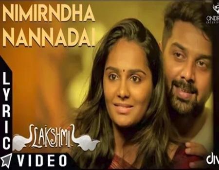 Nimirndha Nannadai – Lakshmi   Lyrical Video   Sundaramurthy KS   Sarjun KM, Sriradha Bharath