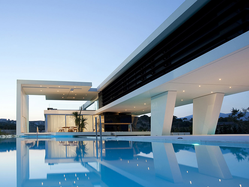 If It's Hip, It's Here (Archives): Huge Modern Athens Home ...