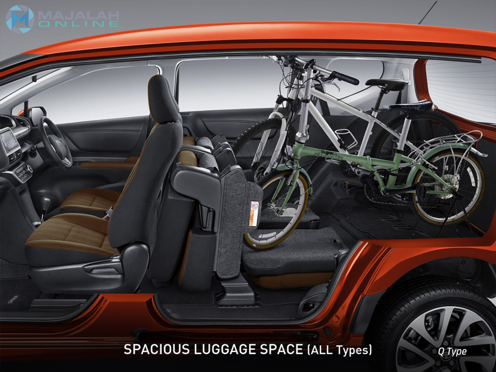 Toyota Sienta Luggage Space Pictures To Pin On Pinterest