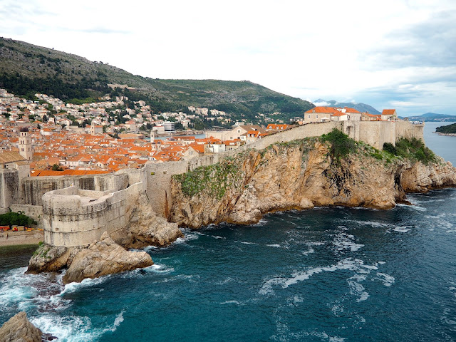 Old Town from Fort Lovrijenac, Dubrovnik, Croatia