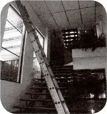 Instalaciones eléctricas residenciales - Escalera alta
