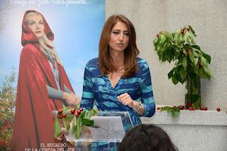 Ana Bellón desgrana las cualidades de la Picota del Jerte