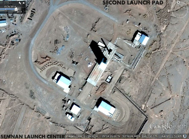 Image Attribute: Second Launch Pad / Safir-Class Launch Pad / Source: Google Earth