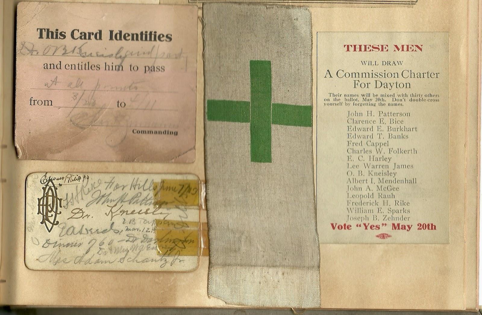 From Matt Yanney collection, 1913 Dayton Ohio flood scrapbook