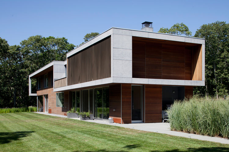 Prefab Sustainable House With Geothermal System Modern