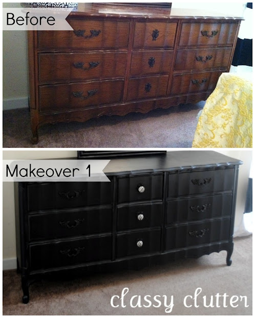 Chalk Paint Recipe And Dresser Makeover