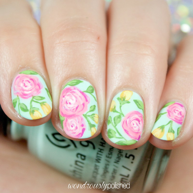 Wondrously polished nail art the planner society washi series ive mentioned this desire in my past tps washi tape mani posts but ive been wanting to do a series of looks inspired by tps washis thats what is prinsesfo Gallery