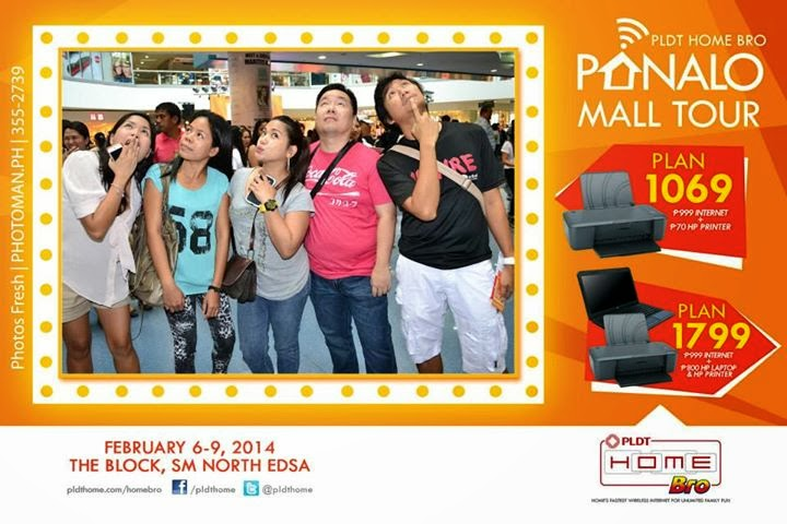 PLDT Home Bro Panalo Mall Tour