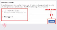 how to recover facebook password online