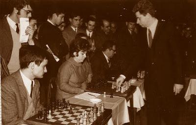 Simultáneas de Boris Spassky en Terrassa, 16 de diciembre de 1969