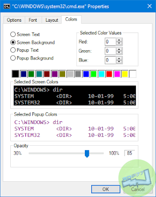 Kustomisasi Command Prompt Di Windows Tab Colors