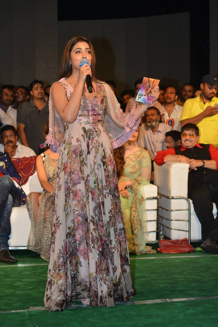 Shriya Saran At Paisa Vasool Movie Audio Launch Stills