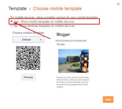 Cara Membuat Responsive Template Bawaan Blogger