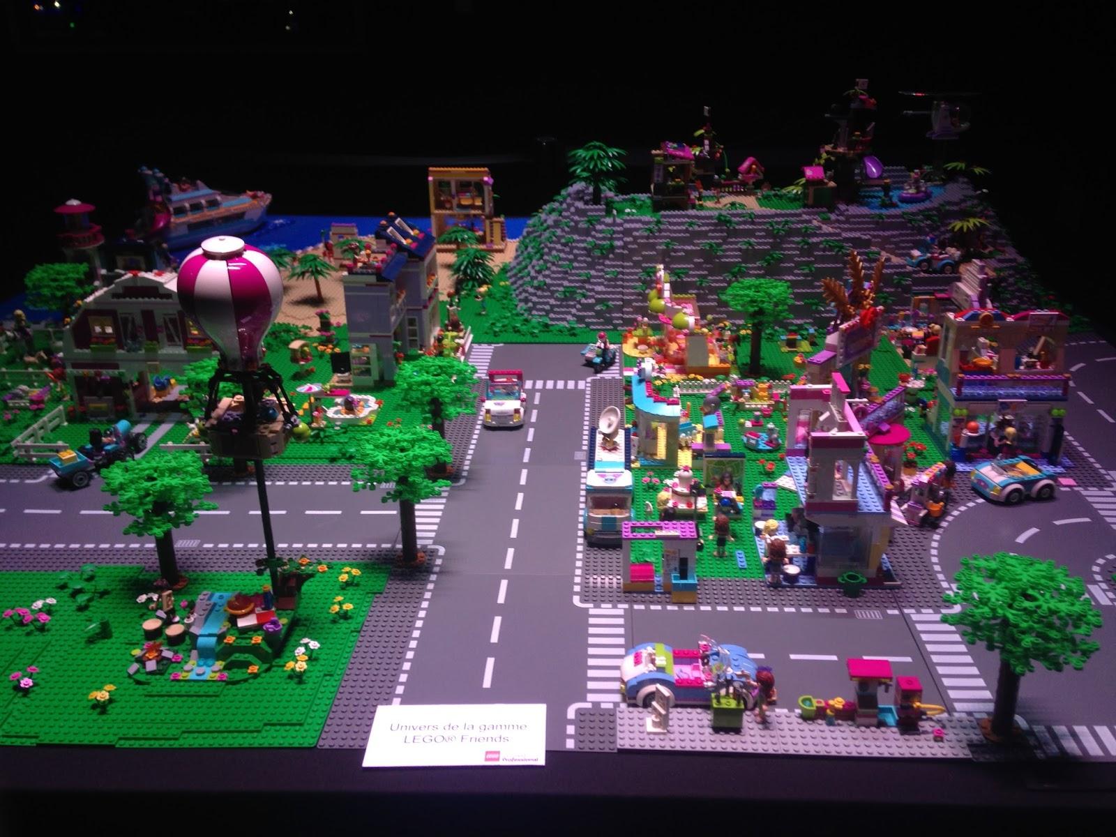 Univers de la gamme Lego Friends