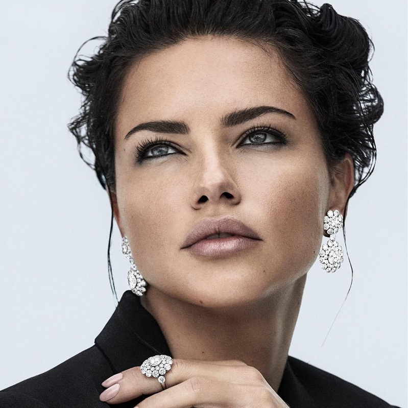 Adriana Lima stars in Chopard Magical Setting campaign