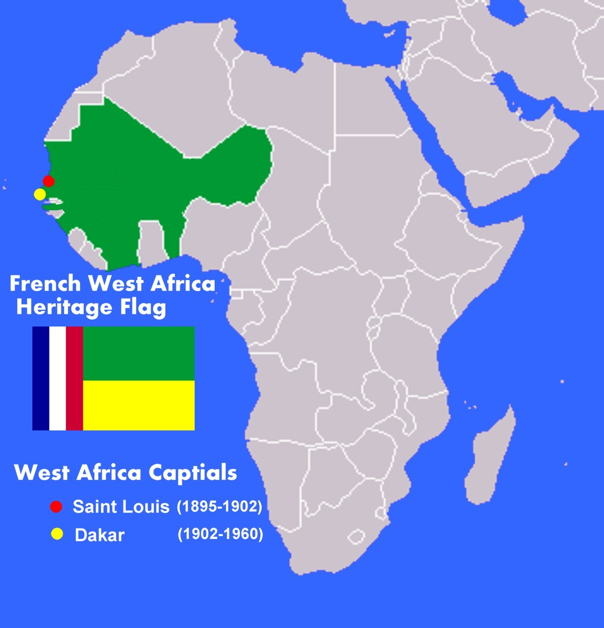 the voice of vexillology flags u0026 heraldry french west africa