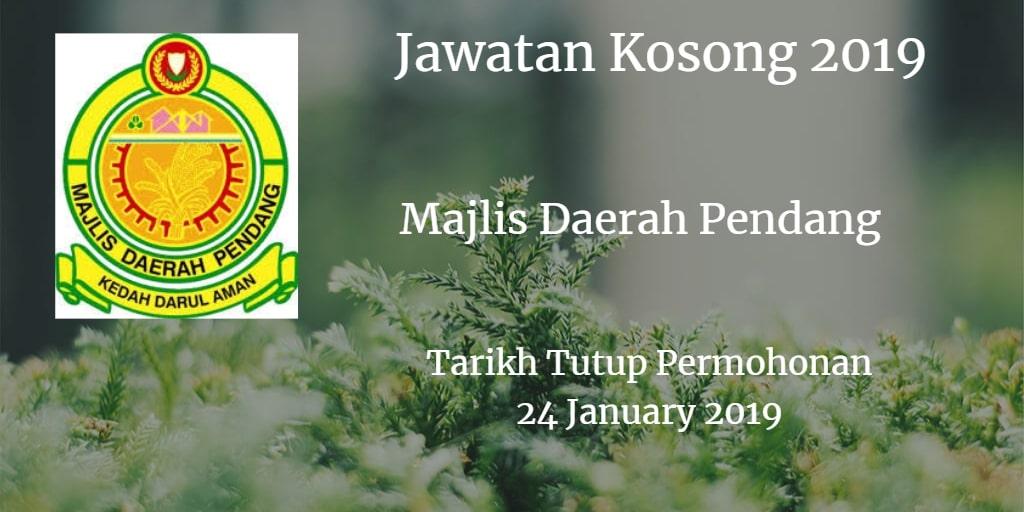 Jawatan Kosong MDP 24 January 2019
