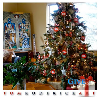 Gift Giving made easy. Give the gift of art. Tom Roderick Art