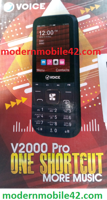 voice v2000 pro flash file