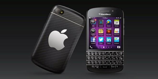 BlackBerry trabajaría junto a Apple