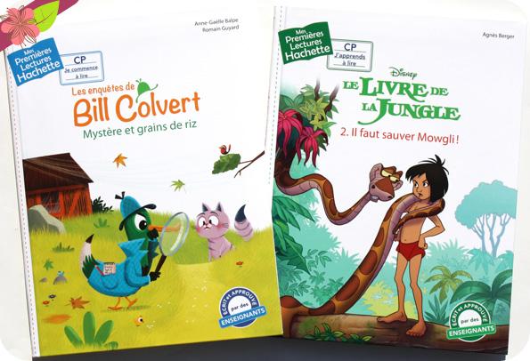Les enquêtes de Bill Colvert - Mystère et grains de riz & Le Livre de la Jungle - Il faut sauver Mowgli ! - Hachette enfants