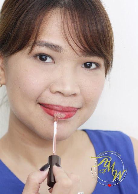 a photo of Ofra Long Lasting Liquid Lipstick in MANILA and Ofra Lipliner in Delicious Red