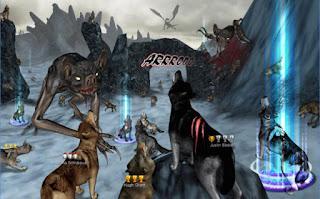 Game Wolf Online V1.4.1 MOD Apk + DATA ( Unlimited Points )