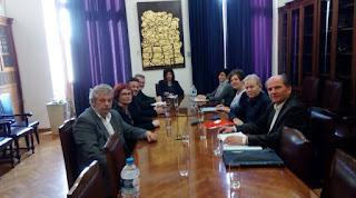 Συνάντηση του Δ.Σ. του Συλλόγου Γονέων και Φίλων του ΕΕΕΕΚ Κατερίνης με την Διευθύντρια του Γραφείου του Πρωθυπουργού στη Θεσσαλονίκη