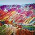 Dağların renkli mucizesi  : Çin Gökkuşağı Dağları
