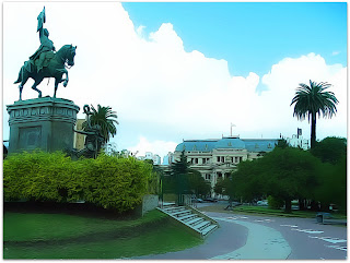 Plaza San Martin, La Plata, Argentina