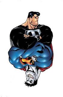 """""""Explicación del concepto la mitad oscura como villano en una historia de superhéroes"""""""