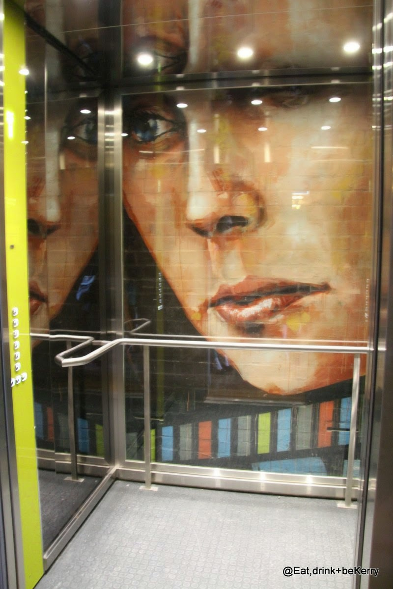Glass lift, TRPY, Brisbane
