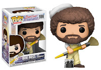 Funko Pop! Bob Ross With PaintBrush