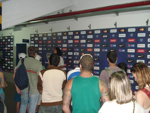 Ala de imprensa - La Bombonera - visita guiada
