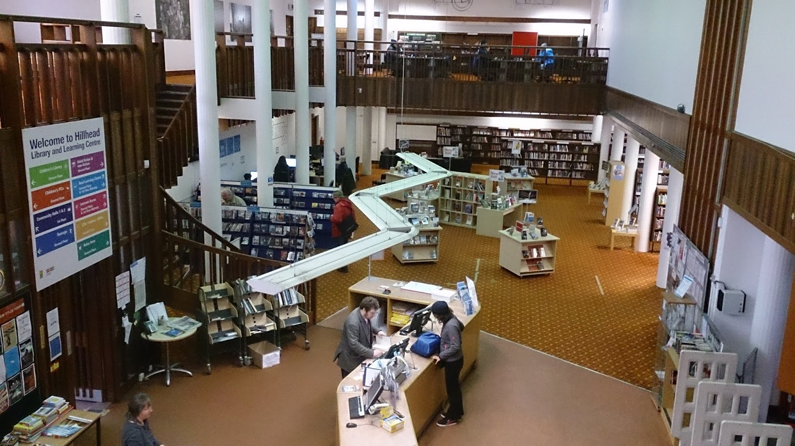 Glasgow Punter: Glasgow Libraries, Then and Now