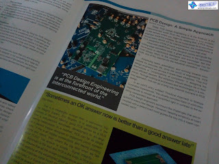 Newsletter Spread - Analogue Devices Philippines