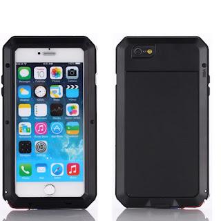For Apple iPhone Aluminum Metal Shockproof Gorilla Glass Cover Waterproof Case
