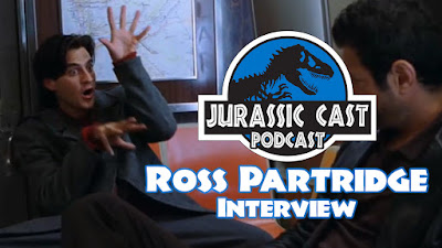 New Podcast featuring The Lost World's Ross Partridge now live!