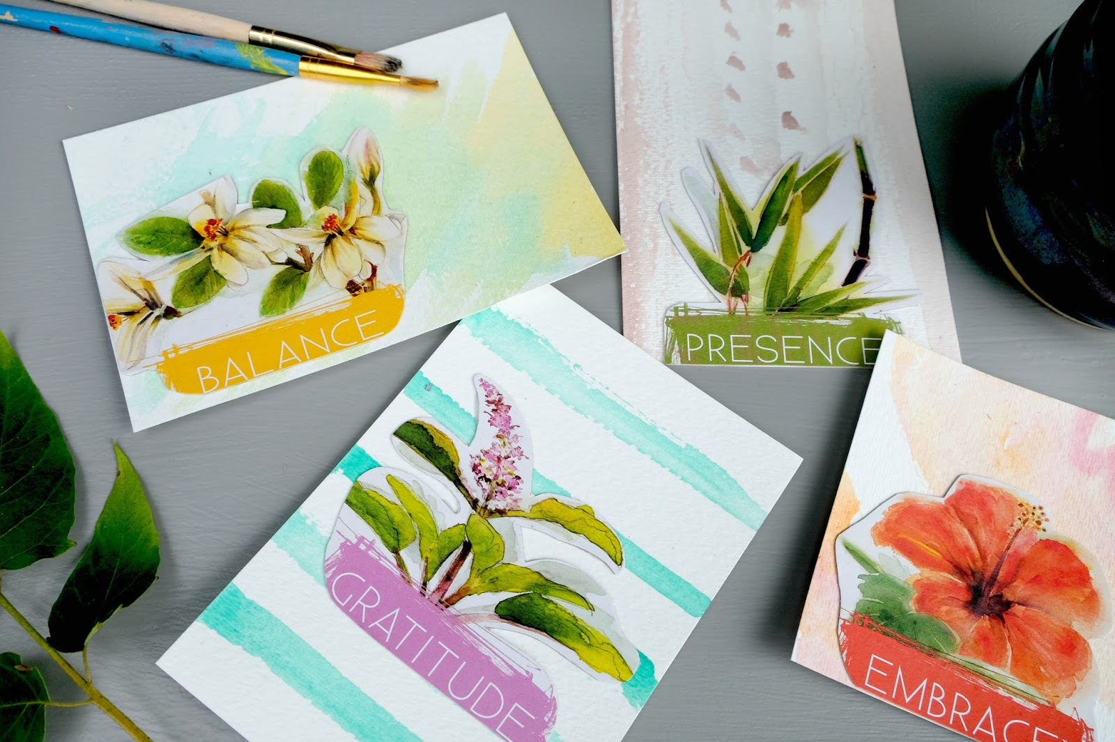 DIY crafting with old tea boxes